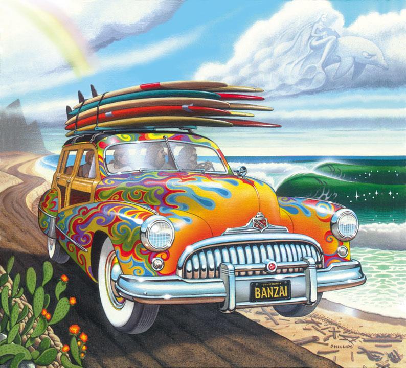 Surf Art Paintings